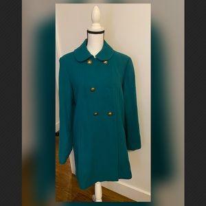 H&M Women's Emerald/Teal Green fall jacket